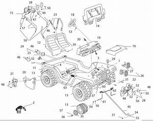 power wheels barbie jammin39 jeep parts With power wheels jeep