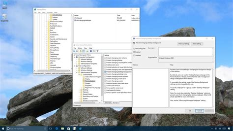 How To Stop People From Changing Your Windows 10 Desktop