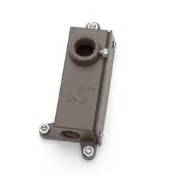 kichler 15609azt landscape junction box mounting bracket