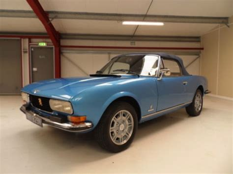 Peugeot 504 For Sale Usa by 1975 Peugeot 504 Cabriolet V6 Bring A Trailer