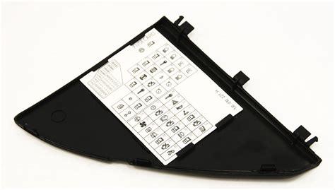 Dash Fuse Panel Door Diagram Trim Jetta Golf Gti