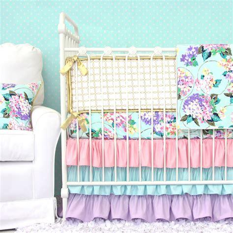 elephant nursery bedding 39 s hydrangea crib bedding set by caden