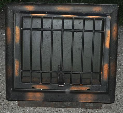 Metal Floor Furnace Grates by Antique Metal Wall Cold Air Return Heat Vent Grate