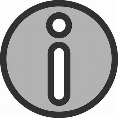 Clipart Informational Clip Symbol Cliparts Clker Vector