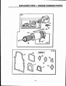 Exploded View  U2014 Engine Common Parts