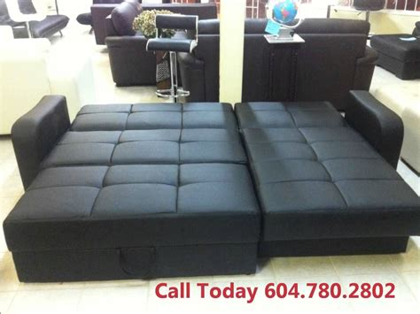 hurry sofa bed sale vancouver amazing leather sofa bed chaise lounge ottoman  storage