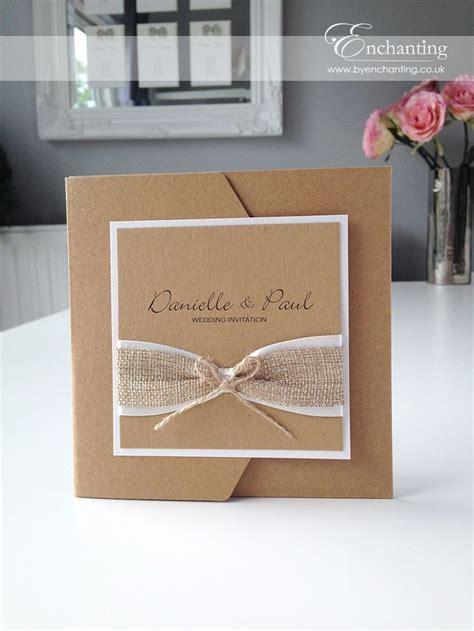 1000 ideas about handmade wedding invitations on