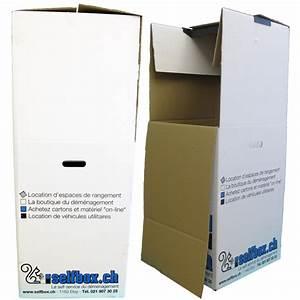 Matériel De Déménagement : carton penderie ~ Premium-room.com Idées de Décoration