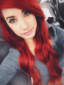 Dyed Red Haired Girl Wwwpixsharkcom Images Galleries