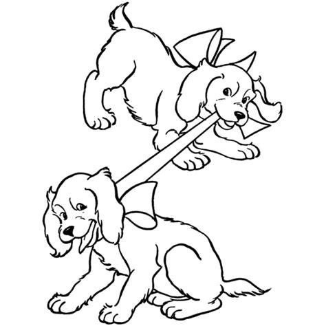disegni da colorare cuccioli di disegno di cuccioli di coker da colorare per bambini