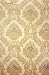 Goldene tapeten haus ideen for Balkon teppich mit textil tapete tapezieren
