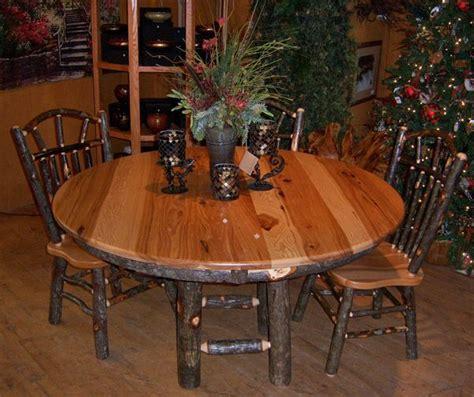 30323 log dining table best 61 best hickory log furniture images on log