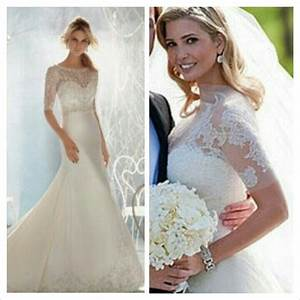 ivanka trump39s wedding dress weddings pinterest With ivanka wedding dress