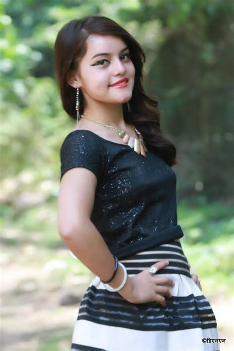 Cute Teen Model Anju Bhandari Winner Of Miss Slc Princess