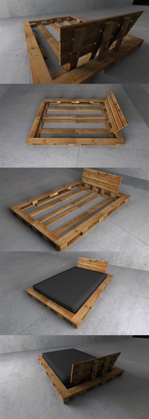 21 Ideen Fuer Palettenbett Im Schlafzimmerniedriges Palettenbett 2 by Die Besten 25 Palettenbett Ideen Auf
