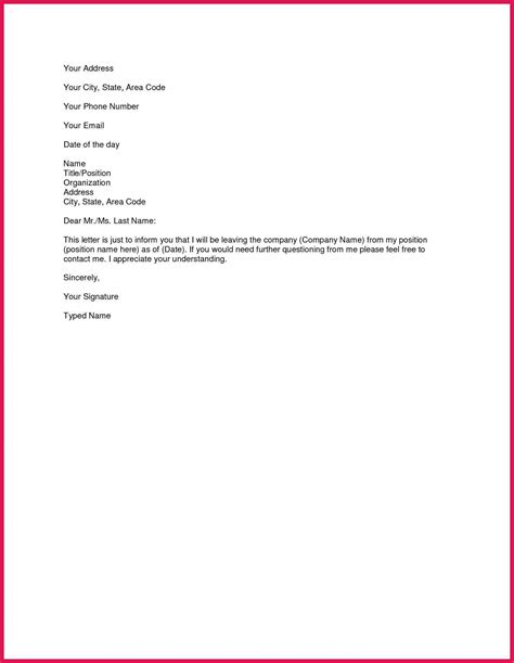 template  resignation letter sop examples
