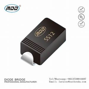 New Arrival Mdd Ss12 Rectifier Diode For Generator Purchasing  Souring Agent