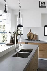 Arbeitsplatte Küche Beton : beton arbeitsplatte k che ~ Watch28wear.com Haus und Dekorationen