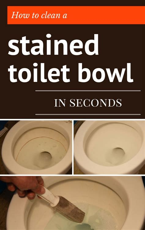 how to clean stained toilet bowl 201 best cleaning bathroom images on pinterest cleaning hacks cleaning recipes and cleaning tips