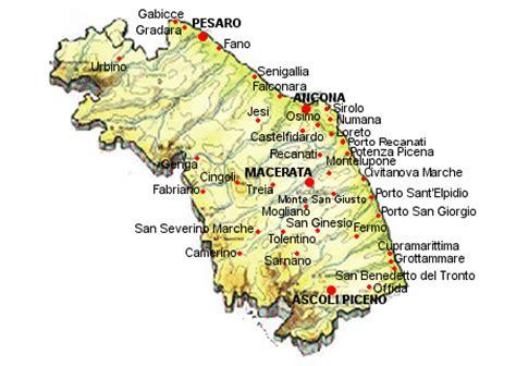 marche hotel marche camping mappa agriturismo san