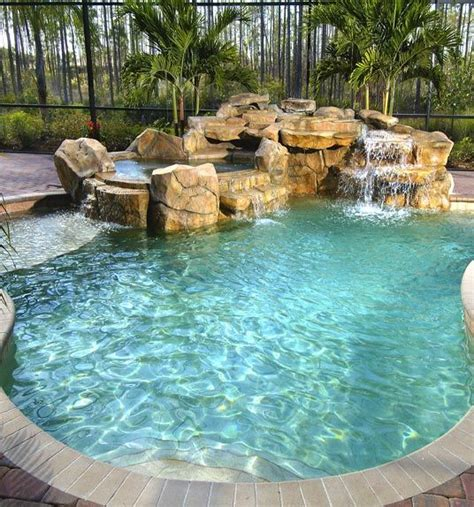 I Love The Feel Of Natural Lagoon Type Poolsi Love The Shallow   Ideas For The House