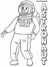 Astronaut Coloring sketch template