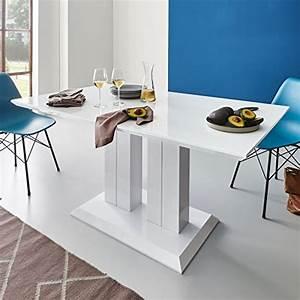 Säulentisch Weiß Hochglanz : esstische von moebella und andere tische f r esszimmer online kaufen bei m bel garten ~ Frokenaadalensverden.com Haus und Dekorationen