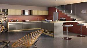 la cuisine couleur taupe on l39adore deco cool With kitchen colors with white cabinets with association sans papier