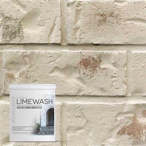 1 qt riposo beige limewash interior exterior paint 10116 the home depot