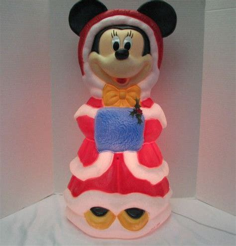 santas  disney minnie mouse light  christmas blow