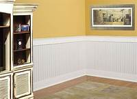 "what is beadboard MDF Bayside Beadboard | Wainscoting Kit | Covers 40""H x 96"" L"