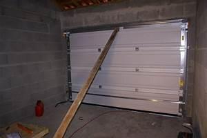 montage porte de garage sectionnelle motorisee brico depot With porte de garage sectionnelle motorisée brico depot