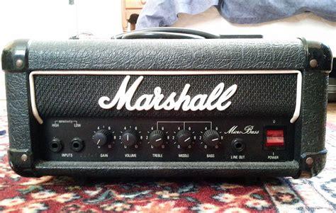 Marshall Micro Bass 30w Amp Head