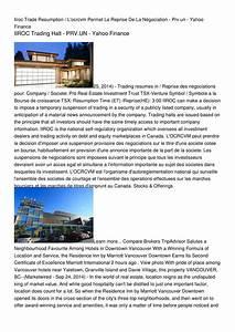 Calaméo - Iiroc Trade Resumption / L'ocrcvm Permet La ...