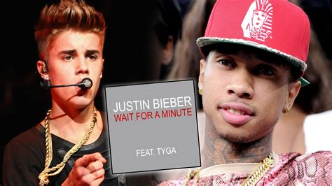 Justin Bieber Tyga Wait For A Minute Lyrics New Song