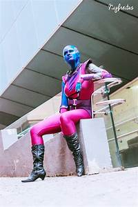 Cosplay Wednesday - Guardians of the Galaxy's Nebula ...
