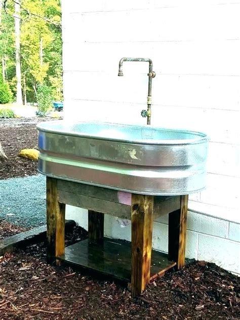garden hose sink outdoor sink faucet outdoor sink