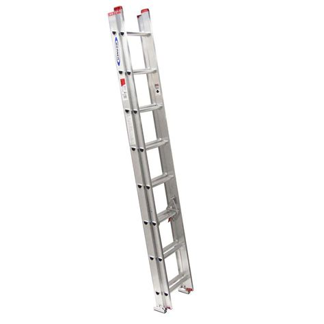 ladder review werner 16 ft aluminum extension ladder with 200 lb load capacity type iii duty rating d1116 2