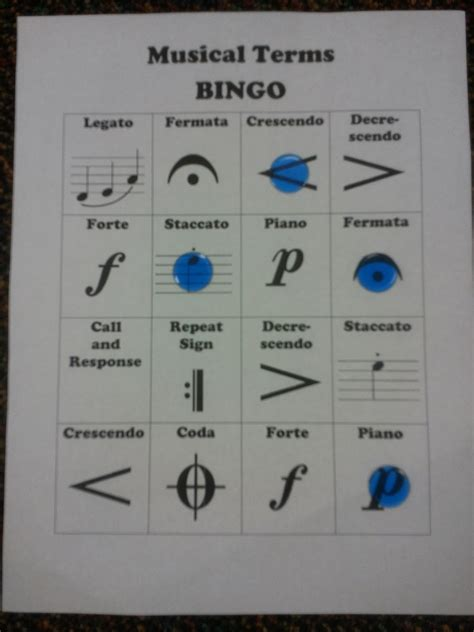 We tied the new room in with the existing decor. We Music @ HSES! ♫: Musical Terms Centers