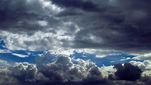 Blue, Sky, Dark, Clouds, Ii
