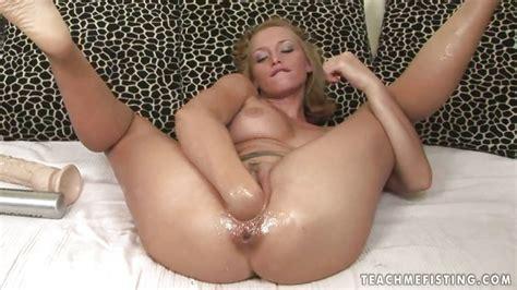 Kathia Nobili Blonde Fisting Her Wet Cunt Porntube