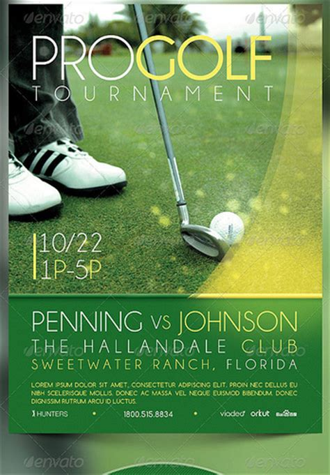 app golf design template golf tournament event flyer and cd template flickr