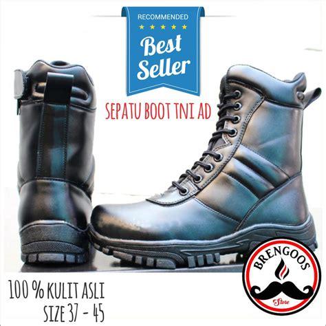 jual sepatu boot pdh cibaduyut tni original sepatu kerja pantofel pdl kicker di lapak
