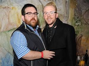 Nick Frost and Simon Pegg Working on a New Mystery Project ...