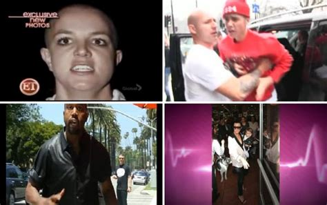 Crazy Celebrity Paparazzi Altercations The Ugly Side
