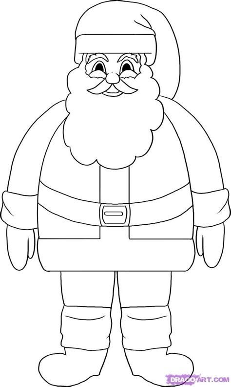 best drawi g of santa clause with chrisamas tree rantroot santa claus drawing