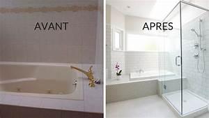 Relooking Salle De Bain Avant Apres : avant apr s transformer une salle de bains quelconque ~ Zukunftsfamilie.com Idées de Décoration