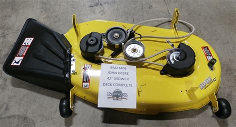 Used Mower Decks For Deere by Deere 42 Quot Mower Deck Complete Only Fits Z225 Mowers