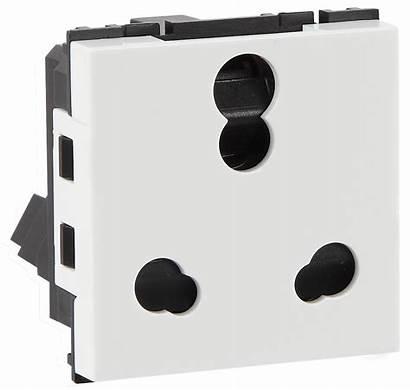 Socket Havells Shuttered Modular 16a Switches Range