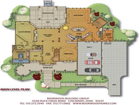 custom house floor plans open floor plans small home custom home floor plans